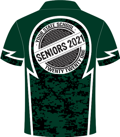 School Senior and school leaver Polo Shirts 2019